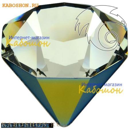 Кристалл Swarovski (Сваровски) 4928 Tilted Chaton 18 мм Crystal Tabac 2 VZ