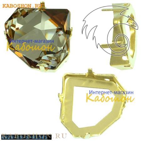 Оправа для Swarovski 4928 Tilted Chaton Fancy stone 18 мм латунь 4928-18-S-81341