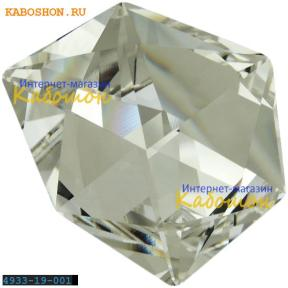 Swarovski 4933 Tilted Dice 19 мм Crystal