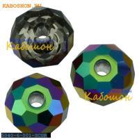 Swarovski Briolette bead 6 мм Crystal Scarabeus Green