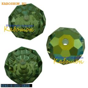 Swarovski Briolette bead 8 мм Crystal Iridescent Green