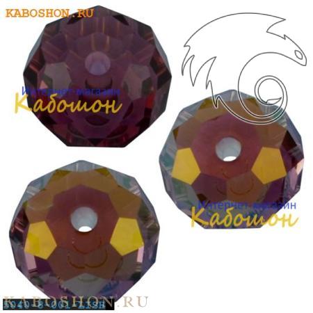 Бусина Swarovski (Сваровски) Briolette bead 8 мм Crystal Lilac Shadow