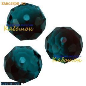 Swarovski Briolette bead 8 мм Burgundy-Blue Zircon Blend