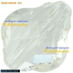 Swarovski 5058 Baroque bead 10 мм Crystal