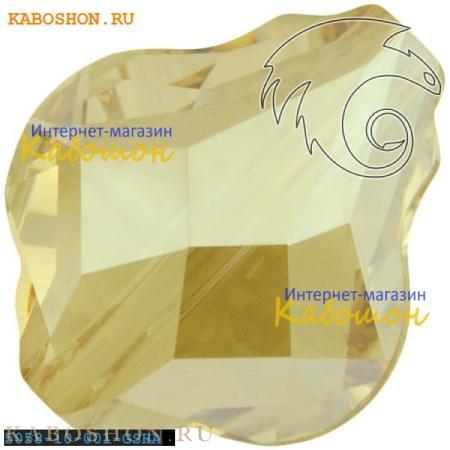 Swarovski 5058 Baroque bead 10 мм Crystal Golden Shadow 5058-10-001-GSHA