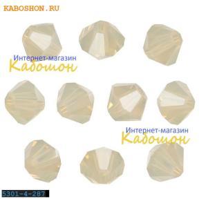 Swarovski Xilion beads 4 мм Sand Opal