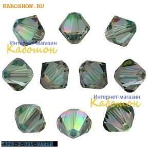 Swarovski Xilion beads 3 мм Crystal Paradise Shine