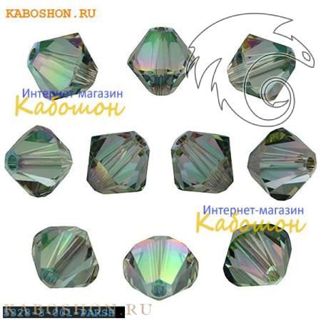 Бусина биконус Swarovski (Сваровски) Xilion beads 3 мм Crystal Paradise Shine