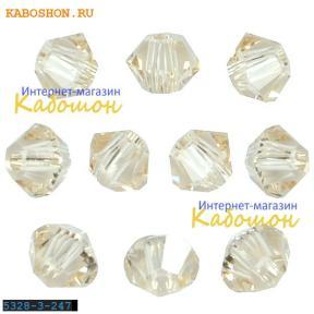 Swarovski Xilion beads 3 мм Ceylon Topaz