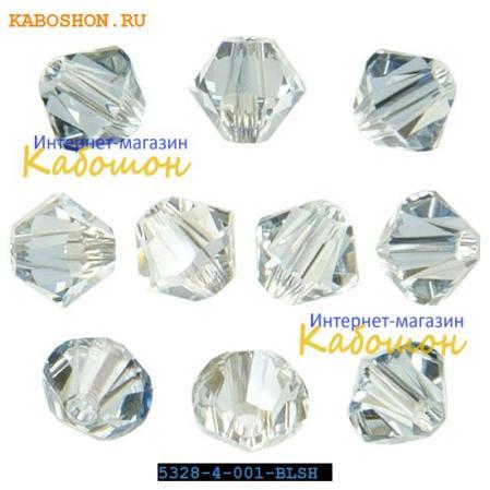 Swarovski Xilion beads 4 мм Crystal Blue Shade
