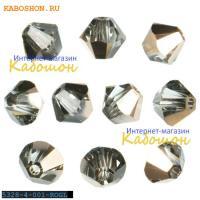 Swarovski Xilion beads 4 мм Crystal Rose Gold