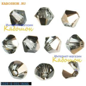 Swarovski Xilion beads 3 мм Crystal Rose Gold