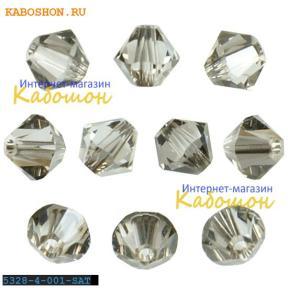 Swarovski Xilion beads 4 мм Crystal Satin