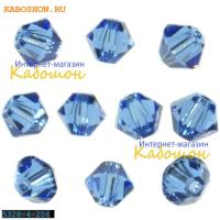 Swarovski Xilion beads 3 мм Sapphire