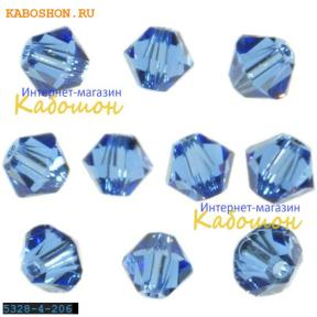 Swarovski Xilion beads 4 мм Sapphire