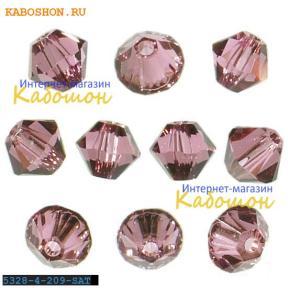 Swarovski Xilion beads 3 мм Rose Satin