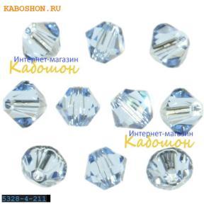 Swarovski Xilion beads 4 мм Lt.Sapphire