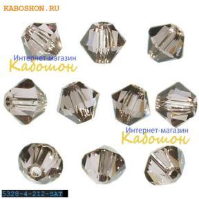 Swarovski Xilion beads 3 мм Lt.Amethyst Satin