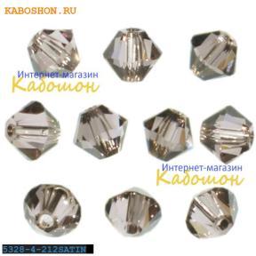 Swarovski Xilion beads 4 мм Light Amethyst Satin