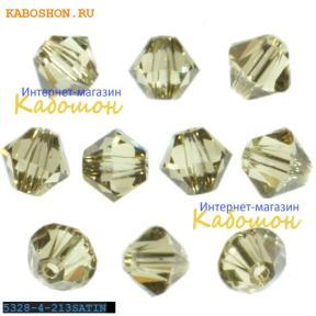 Swarovski Xilion beads 4 мм Jonquil Satin
