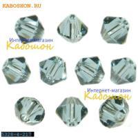 Swarovski Xilion beads 4 мм Indian Sapphire