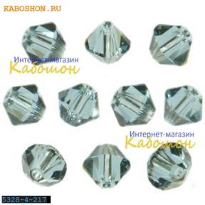Swarovski Xilion beads 3 мм Indian Sapphire