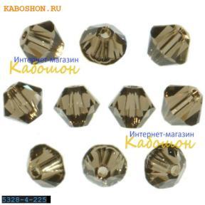 Swarovski Xilion beads 3 мм Smoked Quartz