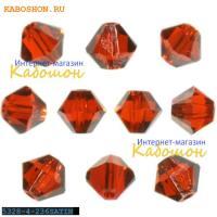 Swarovski Xilion beads 4 мм Hyacinth Satin