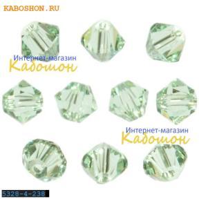 Swarovski Xilion beads 4 мм Chrysolite