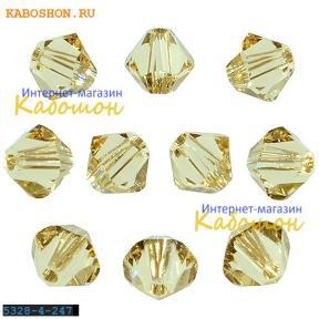 Swarovski Xilion beads 4 мм Ceylon Topaz