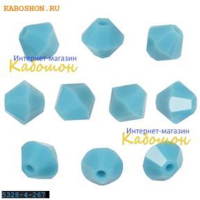 Swarovski Xilion beads 4 мм Turquoise