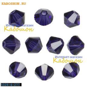 Swarovski Xilion beads 4 мм Purple Velvet