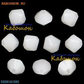 Swarovski Xilion beads 3 мм White Alabaster