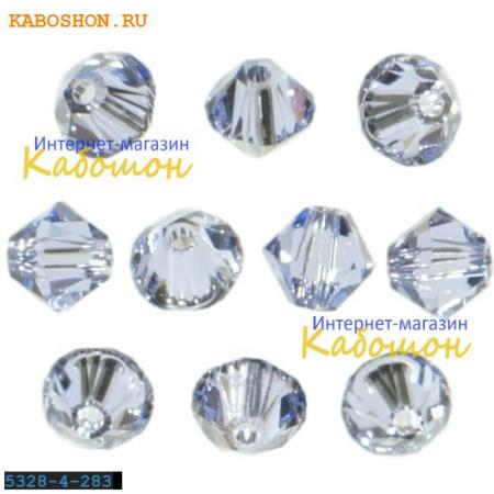 Бусина биконус Swarovski (Сваровски) Xilion beads 4 мм Provence Lavender