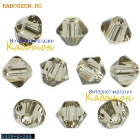 Swarovski Xilion beads 4 мм Greige
