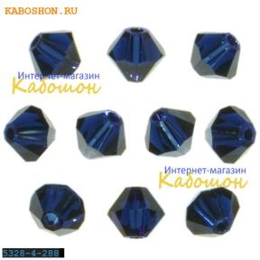 Swarovski Xilion beads 4 мм Dark Indigo
