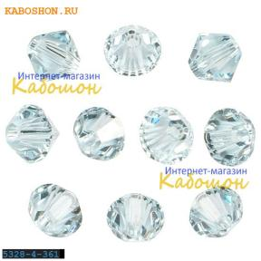 Swarovski Xilion beads 4 мм Light Azore