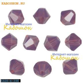 Swarovski Xilion beads 3 мм Cyclamen Opal