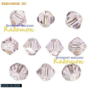 Swarovski Xilion beads 3 мм Rosaline