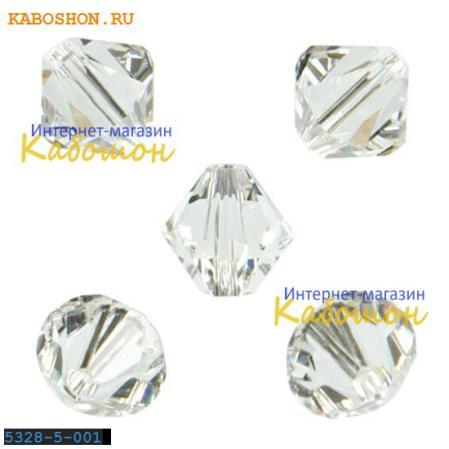 Swarovski Xilion beads 5 мм Crystal