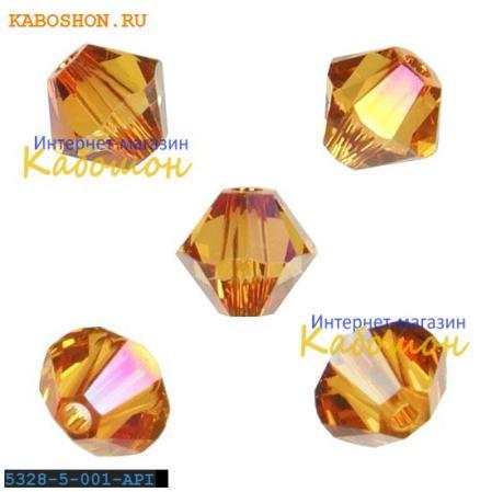Swarovski Xilion beads 5 мм Crystal Astral Pink