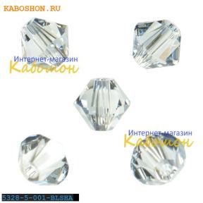 Swarovski Xilion beads 5 мм Crystal Blue Shade