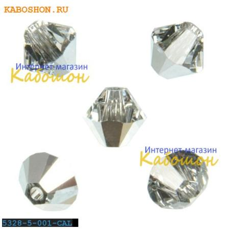 Swarovski Xilion beads 5 мм Crystal Comet Argent Light