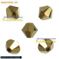 Swarovski Xilion beads 5 мм Crystal Dorado 2x