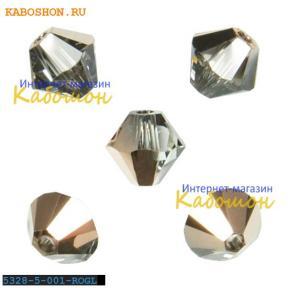 Swarovski Xilion beads 5 мм Crystal Rose Gold