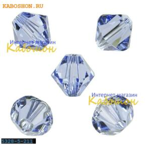 Swarovski Xilion beads 5 мм Lt.Sapphire