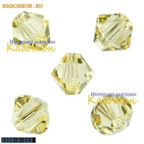 Swarovski Xilion beads 5 мм Jonquil