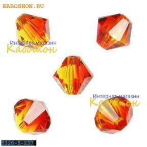 Swarovski Xilion beads 5 мм Fireopal