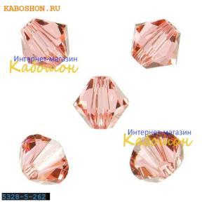 Swarovski Xilion beads 5 мм Rose Peach