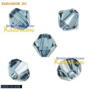 Swarovski Xilion beads 5 мм Denim Blue